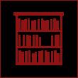 Стеллажи и шкафы для книг из дерева, МДФ