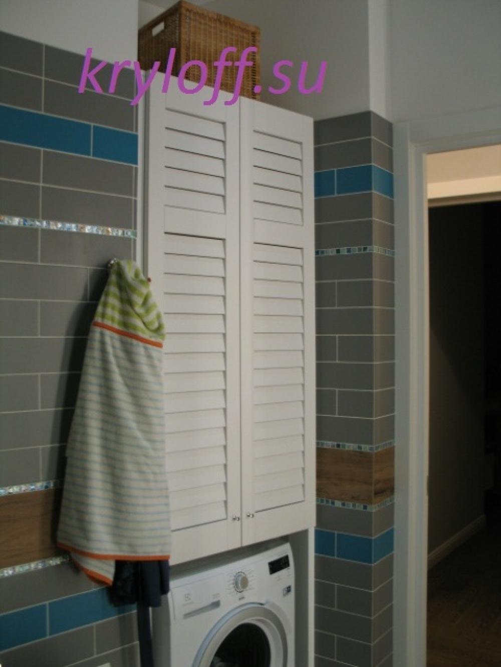 003 Шкаф с полками и дверками