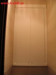 023 Дверцы для сантехники в туалете из мдф крашеные на заказ