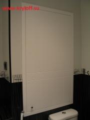 005 Дверь для сантехнического шкафа на заказ крашеная