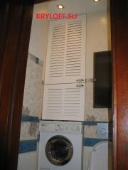 024 Дверки в санузел над стиральной машинкой
