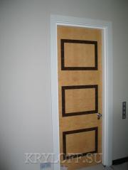 Дверь из дерева 01