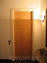 Дверь из дерева 02